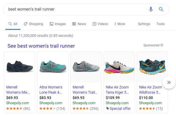 Google Shopping Dominance